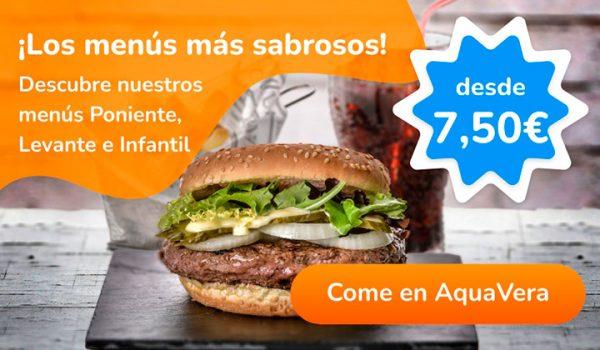 Promoción menús | AquaVera